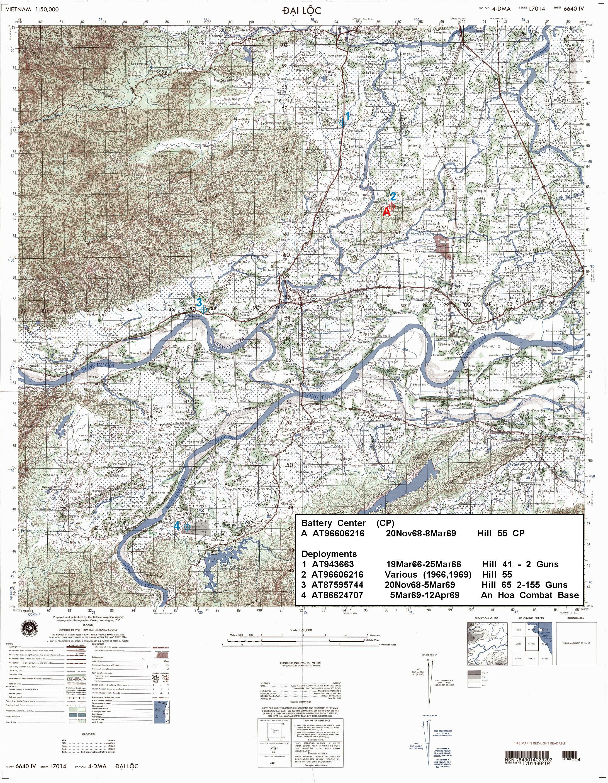 Maps 1st Guns In Vietnam